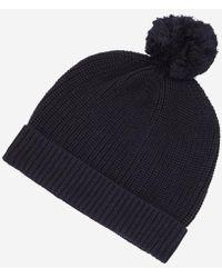 cce68646b6d Lyst - Semiury 1 Cappello Blu N0YGSEBA5 femmes Bonnet en bleu ...
