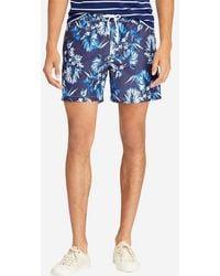 Polo Ralph Lauren - Short de bain court imprimé tropical Traveler - Lyst