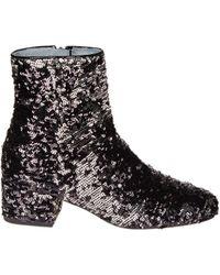 Chiara Ferragni - Sequins Boots - Lyst