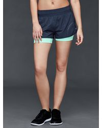 Gap - Gtrack 2-in-1 Compression Shorts - Lyst