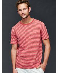 Gap - Slub Jersey Multi Stripe T-shirt - Lyst