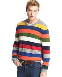 Gap - Crazy Stripe Merino Wool Blend Jumper - Lyst