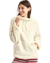Gap - Sherpa Funnel Neck Pullover - Lyst