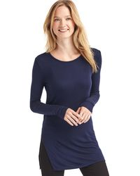 Gap - Modal Rib-knit Tunic - Lyst