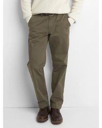 Gap - Vintage Wash Khakis In Relaxed Fit With Flex - Lyst