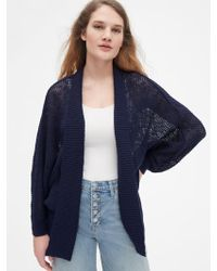 Gap - Open-stitch Cocoon Cardigan Sweater - Lyst