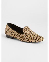 Gap - Cheetah Print Loafers - Lyst