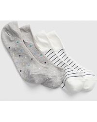Gap - Pattern No-show Socks (2-pack) - Lyst