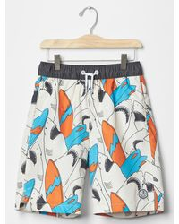 Gap - Printed Swim Trunks - Lyst