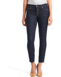 Gap - Mid Rise True Skinny Ankle Jeans - Lyst
