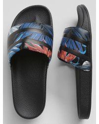 GAP Factory - Slide Sandals - Lyst