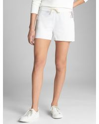 GAP Factory - Logo Shorts In French Terry - Lyst