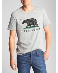 GAP Factory - Graphic T-shirt - Lyst