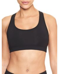 GAP Factory - Gapfit Gfast Medium Impact Racerback Sports Bra - Lyst