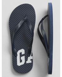 GAP Factory - Print Flip Flops - Lyst