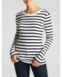 GAP Factory - Favorite Stripe Crewneck T-shirt - Lyst