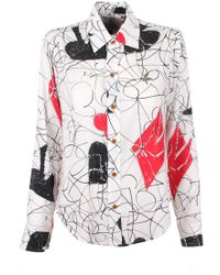 Vivienne Westwood | House Of Cards New Pianist Shirt White Multi | Lyst