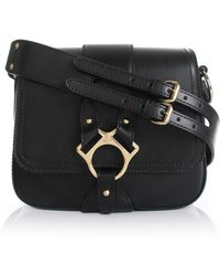 Vivienne Westwood | Large Folly Saddle Bag 43050014 Black | Lyst