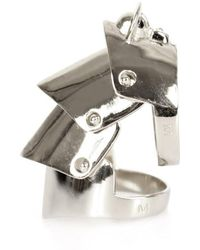 Vivienne Westwood - Armour Ring Silver - Lyst