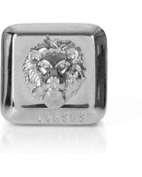 Versus  | Lion Head Square Ring Silver | Lyst