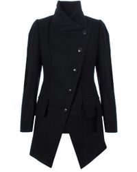 Vivienne Westwood Anglomania - State Coat Black - Lyst