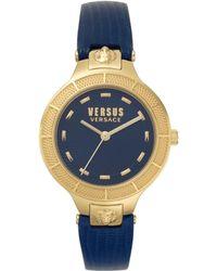 Versus - Claremont Watch Blue/gold - Lyst