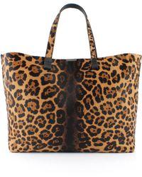 Victoria, Victoria Beckham - Simple Shopper Leopard - Lyst