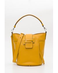 Tod's - Double T Bucket - Lyst