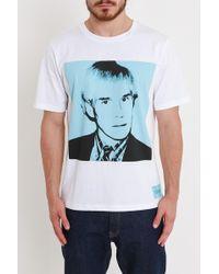 Calvin Klein - Warhol Portrait Tee - Lyst