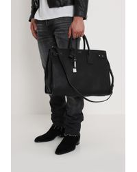 6fc2909dfb2 Saint Laurent Sac De Jour Slg in Black for Men - Lyst