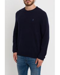 Polo Ralph Lauren - Pull With Embroidered Logo - Lyst