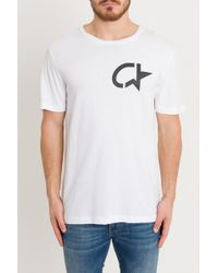 Calvin Klein - T-Shirt Modernist Ck Star - Lyst