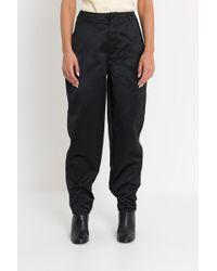 30f535915aca34 Balenciaga Black Wool Carrot Trousers in Black - Save 57% - Lyst