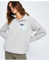 Patagonia - Synchilla Pullover Jumper Grey - Lyst