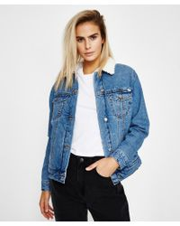 RVCA - Merc Denim Jacket - Lyst
