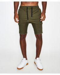 Zanerobe - Sureshot Cargo Shorts Military - Lyst