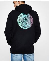 Santa Cruz - Orginal Fade Pop Hood Black - Lyst