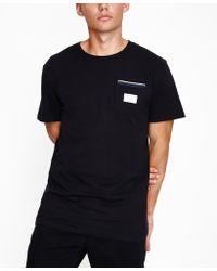 Rhythm - Cardiff Short Sleeve T-shirt Black - Lyst