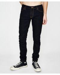 Nudie Jeans - Skinny Lin Jean Dry Deep Orange - Lyst