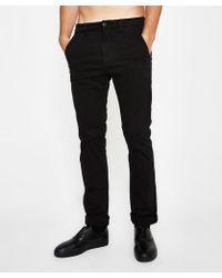 Nudie Jeans - Slim Adam Black - Lyst