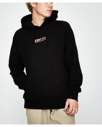X-Large - Oblique Bar Hoodie Black - Lyst