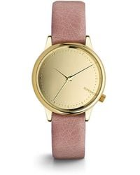 Komono - Estelle Mirror Gold Blush Watch - Lyst