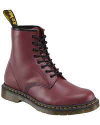 Dr. Martens - 1460 Womens Cherry Red Arcadia - Lyst