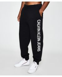 Calvin Klein - Institutional Side Jogging Trousers - Lyst