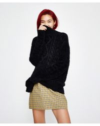 Amuse Society - Cool Winds Jumper Black Sands - Lyst