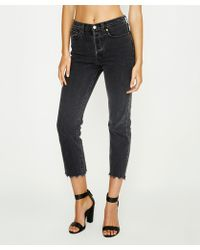 Levi's - Wedgie Straight Jean That Girl Black - Lyst