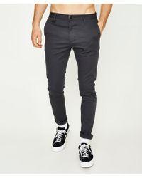 Neuw - Rebel Side Pocket Pant Charcoal - Lyst