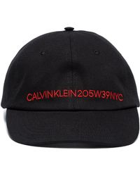 Embroidered logo hat - Black CALVIN KLEIN 205W39NYC q9PUvYH