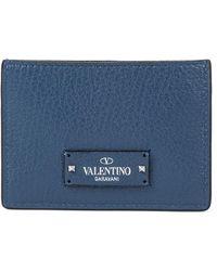 Valentino - Garavani Logo Cardholder - Lyst
