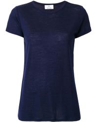 Allude - Plain T-shirt - Lyst